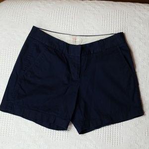 Women's 2 J. CREW Cotton Chino Broken-In Shorts
